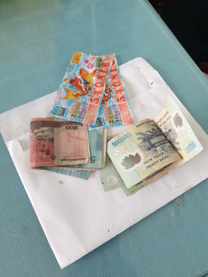 Tóm gọn tên cướp giật tiền của người bán vé số bị tai biến - Ảnh 2.