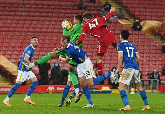 Quật ngã Liverpool ở Anfield, Brighton gây sốc sân cỏ Ngoại hạng Anh - Ảnh 2.
