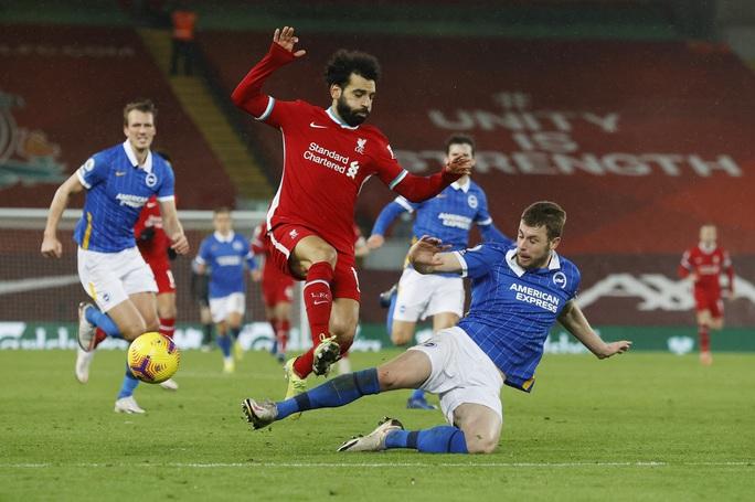 Quật ngã Liverpool ở Anfield, Brighton gây sốc sân cỏ Ngoại hạng Anh - Ảnh 1.