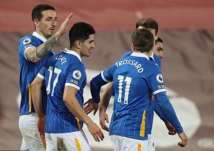 Quật ngã Liverpool ở Anfield, Brighton gây sốc sân cỏ Ngoại hạng Anh - Ảnh 4.