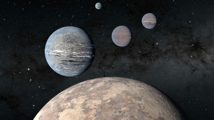 Soi dữ liệu NASA, 2 học sinh phát hiện 4 hành tinh độc đáo nhất từ trước đến nay - Ảnh 1.