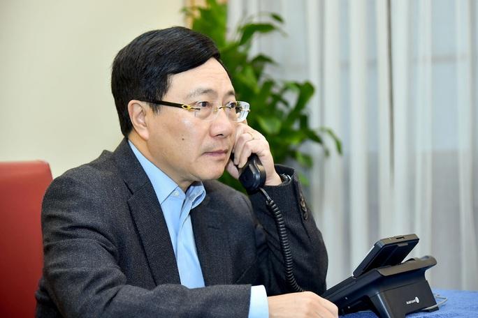 Phó Thủ tướng, Bộ trưởng Phạm Bình Minh điện đàm với tân Ngoại trưởng Mỹ Antony Blinken - Ảnh 1.