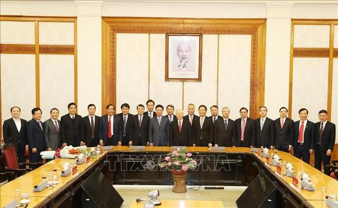 Chùm ảnh: Tổng Bí thư, Chủ tịch nước trao Quyết định phân công Ủy viên Bộ Chính trị - Ảnh 8.