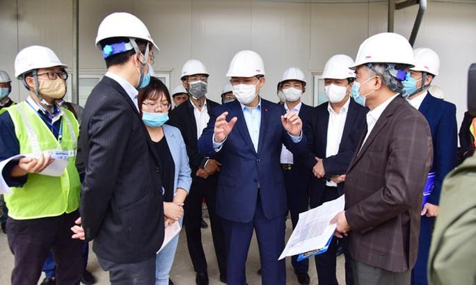 Bí thư Vương Đình Huệ thị sát dự án vừa cấp bách vừa đặc biệt quan trọng của Hà Nội - Ảnh 2.