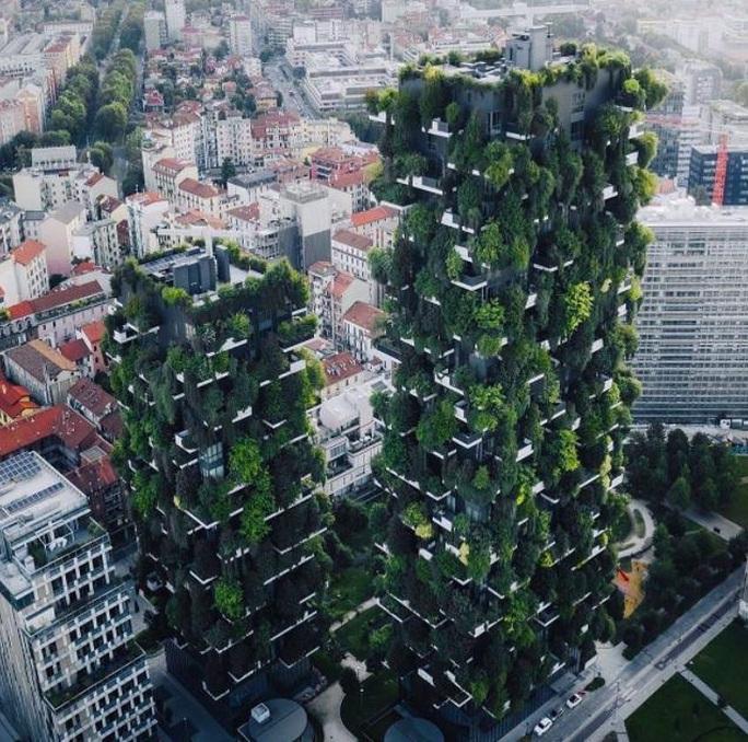 """""""Rừng chọc trời"""" ở Milan - Ảnh 4."""