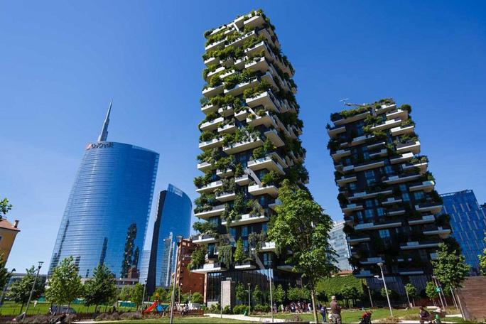"""""""Rừng chọc trời"""" ở Milan - Ảnh 6."""
