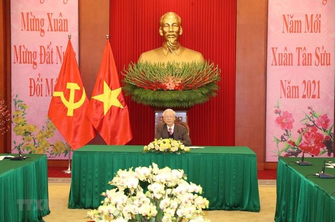 Tổng Bí thư, Chủ tịch nước Nguyễn Phú Trọng và Tổng Bí thư, Chủ tịch nước Trung Quốc điện đàm - Ảnh 1.