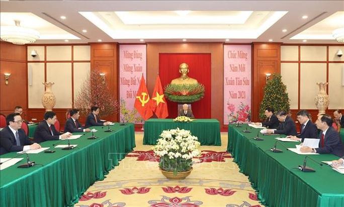 Tổng Bí thư, Chủ tịch nước Nguyễn Phú Trọng và Tổng Bí thư, Chủ tịch nước Trung Quốc điện đàm - Ảnh 2.
