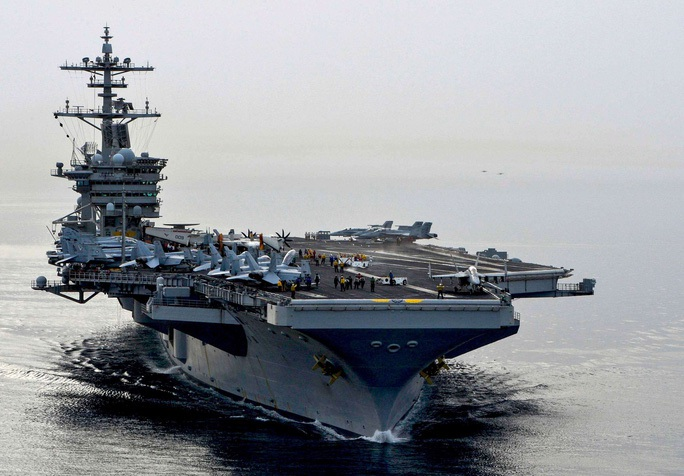 Tàu Mỹ, Pháp ồ ạt đến biển Đông - Ảnh 1.