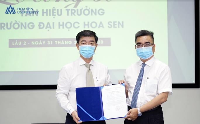 PGS-TS Nguyễn Ngọc Điện rời ghế Hiệu trưởng Trường ĐH Hoa Sen - Ảnh 1.
