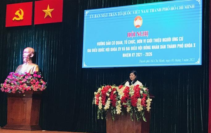Người ứng cử đại biểu Quốc hội phải ghi rõ chỉ có một quốc tịch là quốc tịch Việt Nam - Ảnh 1.