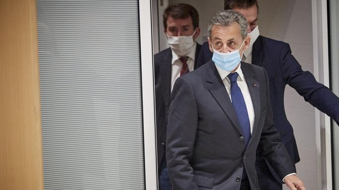 Cựu Tổng thống Pháp Nicolas Sarkozy nhận án tù - Ảnh 1.