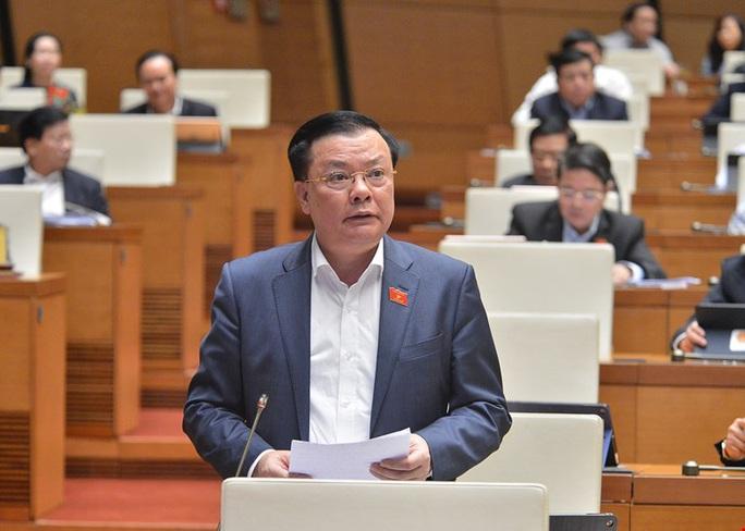 Bộ trưởng Đinh Tiến Dũng được giới thiệu ứng cử Đại biểu Quốc hội khoá XV - Ảnh 1.