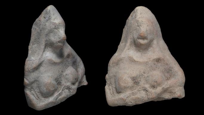 Đi dã ngoại, bé 11 tuổi phát hiện báu vật nữ thần 2.500 năm - Ảnh 2.