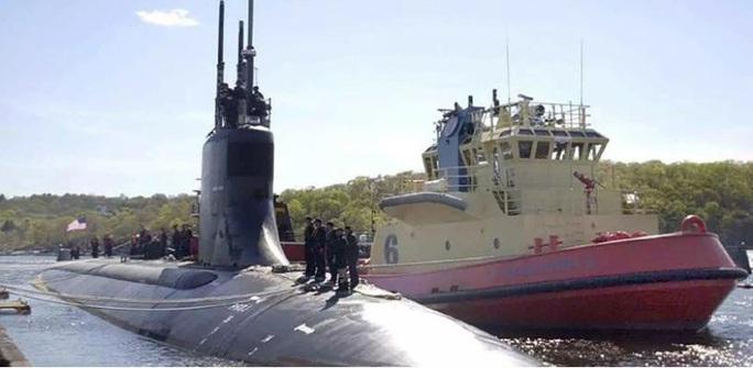 Tàu ngầm hạt nhân Mỹ vật lộn với... rệp - Ảnh 1.