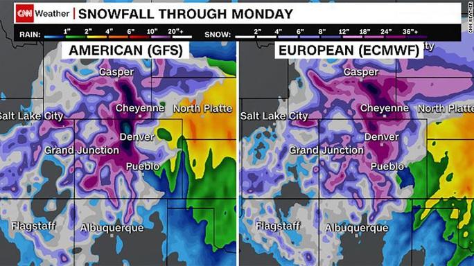 Mỹ sắp bị bão tuyết, mưa lũ và lốc xoáy dập tơi tả? - Ảnh 1.