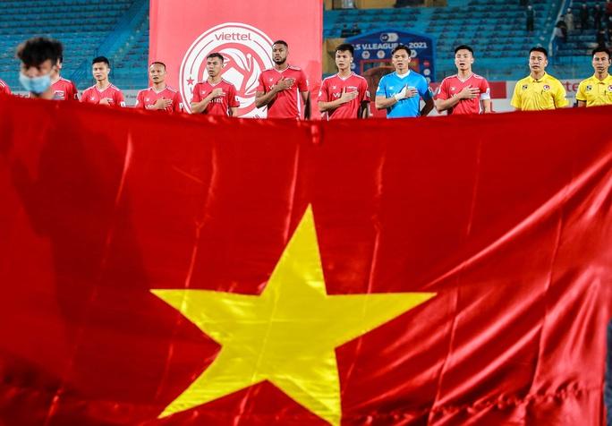 Ngọc Hải trở lại ghi bàn giúp CLB Viettel thắng đậm trước Bình Dương - Ảnh 1.