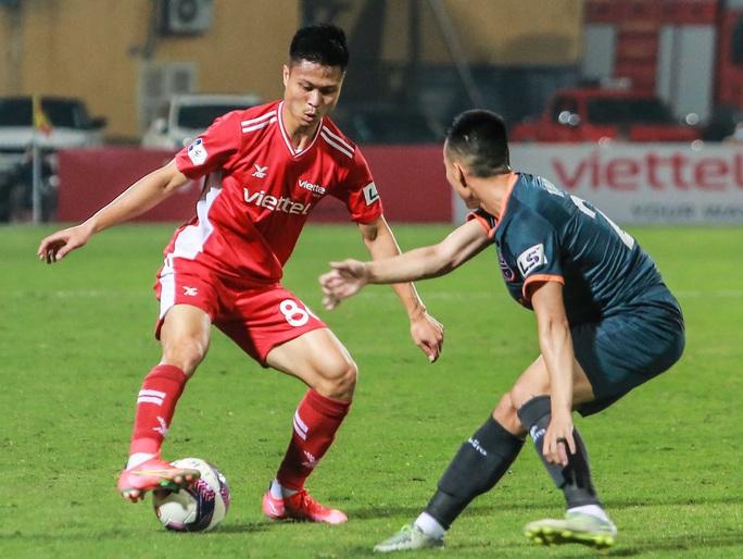 Ngọc Hải trở lại ghi bàn giúp CLB Viettel thắng đậm trước Bình Dương - Ảnh 3.
