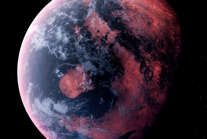 Phát hiện một đại dương khác của Trái Đất, nước toàn đá nóng chảy - Ảnh 1.