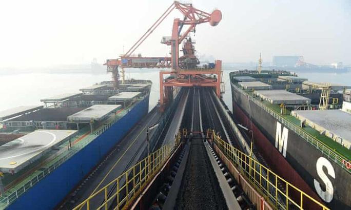 """Úc khơi tiếp vụ hàng chục tàu chở than Úc """"mắc cạn"""" ở Trung Quốc - Ảnh 1."""