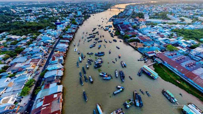 Phát triển ĐBSCL theo phương châm 8G: Đẩy mạnh kinh tế sông - Ảnh 1.