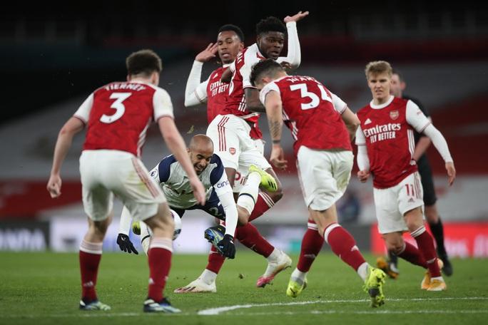 Nghiệt ngã phạt đền và thẻ đỏ, Tottenham thua đau Arsenal trận derby - Ảnh 7.