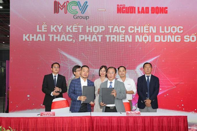 Báo Người Lao Động và MCV Group ký kết hợp tác - Ảnh 1.