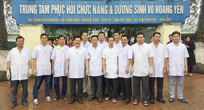 """Hà Tĩnh từng hỗ trợ trung tâm chữa bệnh của """"thần y"""" Võ Hoàng Yên trên 500 triệu đồng - Ảnh 1."""