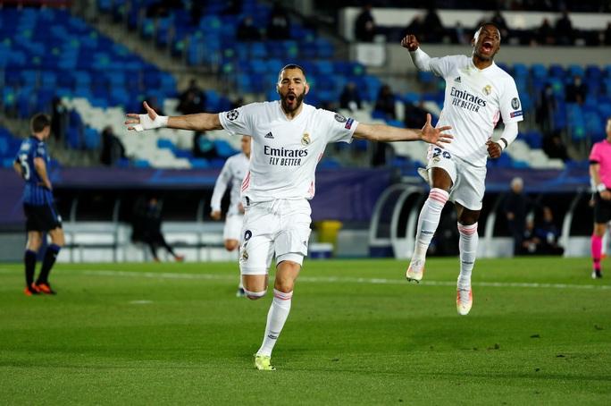 Ngựa ô Atalanta dừng bước, Real Madrid vào tứ kết Champions League - Ảnh 3.