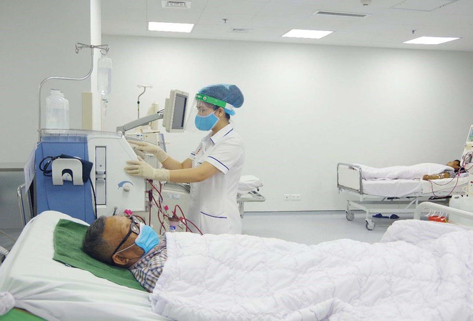 Phòng Covid-19 cho người mắc bệnh thận mạn tính - Ảnh 1.