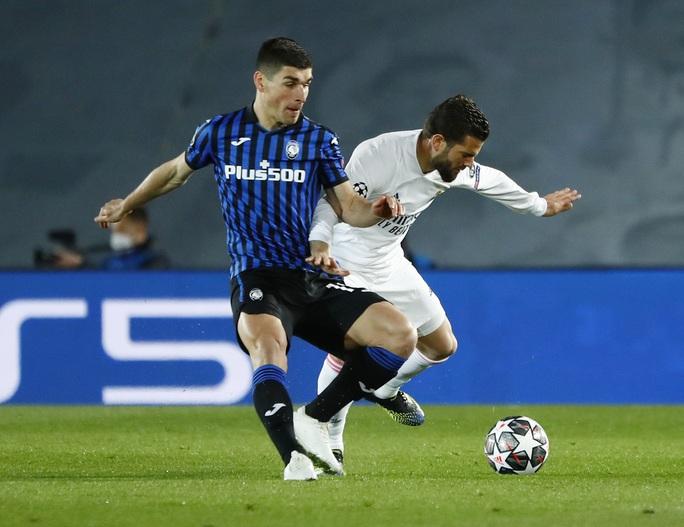 Ngựa ô Atalanta dừng bước, Real Madrid vào tứ kết Champions League - Ảnh 1.