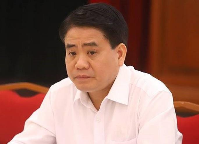 Ông Nguyễn Đức Chung bị khởi tố trong vụ chế phẩm Redoxy 3C - Ảnh 1.