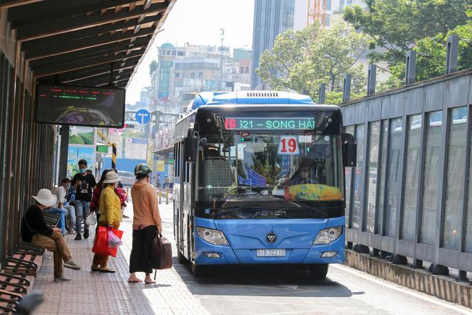 TP HCM thêm 1 năm thí điểm thẻ thông minh cho xe buýt - Ảnh 1.
