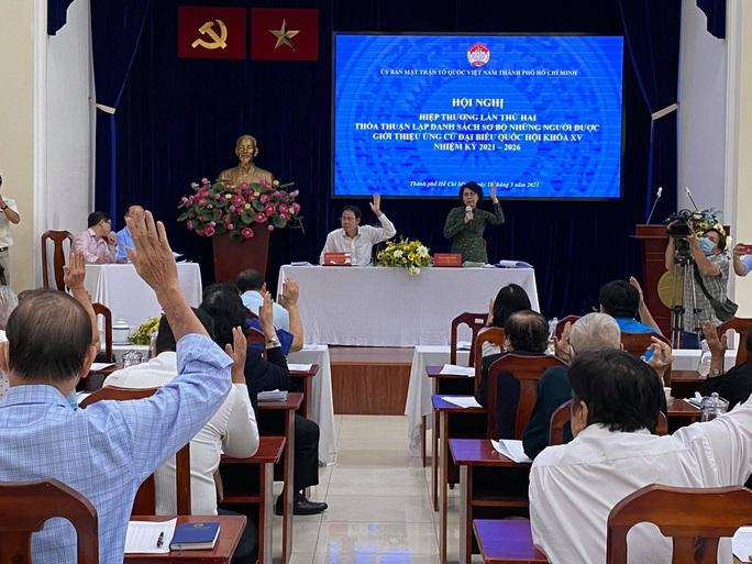 TP HCM có 15 người tự ứng cử Đại biểu Quốc hội khóa XV - Ảnh 1.