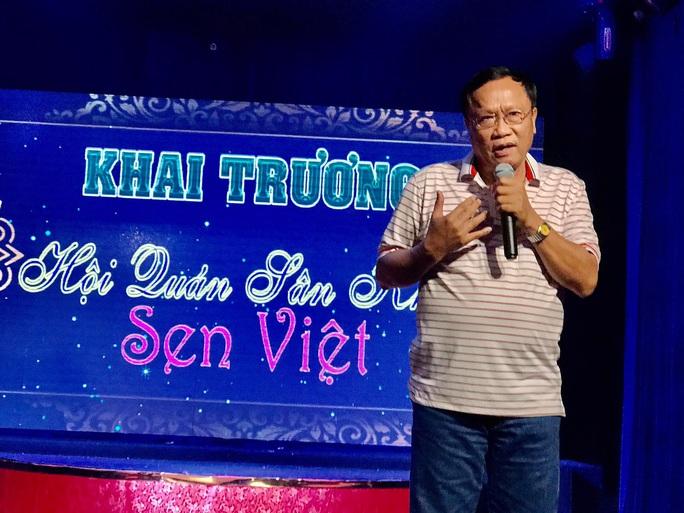 Nhiều bất ngờ tại buổi khai trương điểm diễn cải lương mới - sân khấu Sen Việt - Ảnh 4.