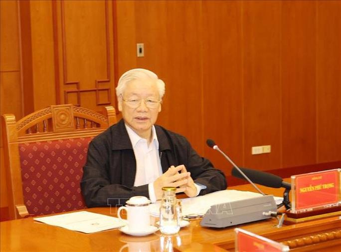 Những hình ảnh Tổng Bí thư, Chủ tịch nước chủ trì họp về một số vụ án, vụ việc - Ảnh 2.