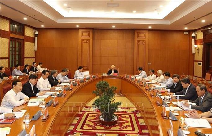 Những hình ảnh Tổng Bí thư, Chủ tịch nước chủ trì họp về một số vụ án, vụ việc - Ảnh 1.