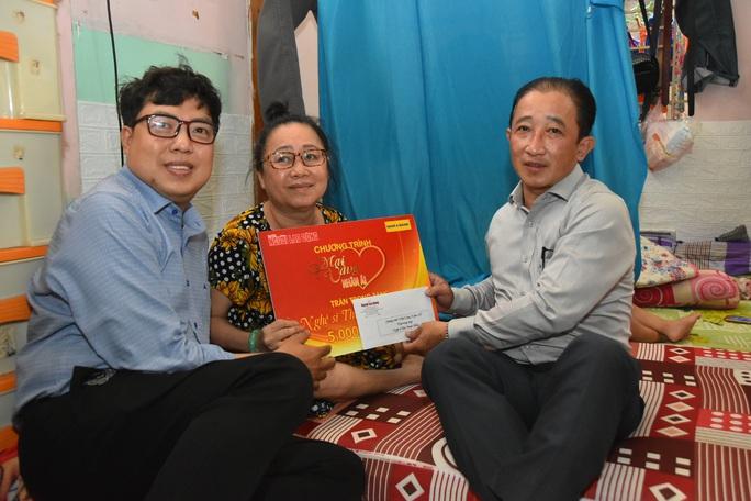 Chương trình Mai Vàng nhân ái thăm NSƯT Linh Phước và nghệ sĩ Thái Thanh Hằng - Ảnh 5.