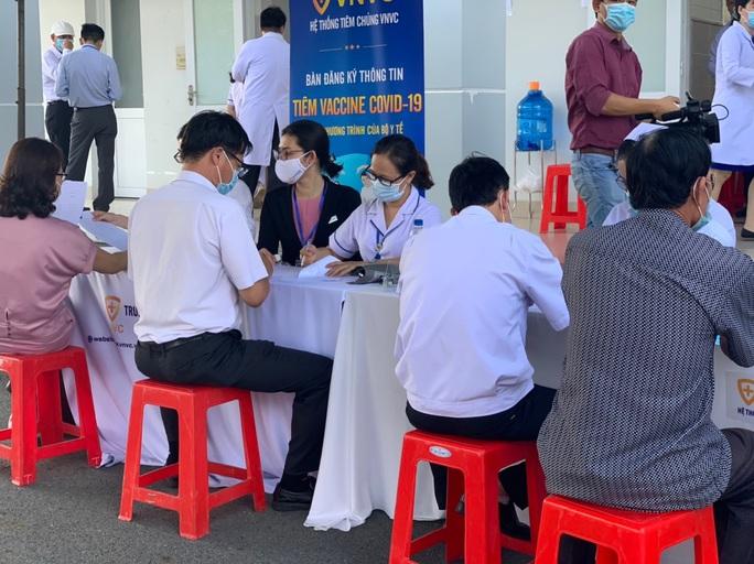 Bà Rịa-Vũng Tàu triển khai tiêm vắc-xin Covid-19 - Ảnh 1.