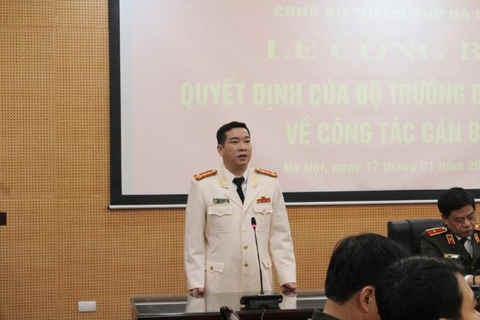 Trưởng phòng Cảnh sát kinh tế Hà Nội chưa được khôi phục chức vụ - Ảnh 1.