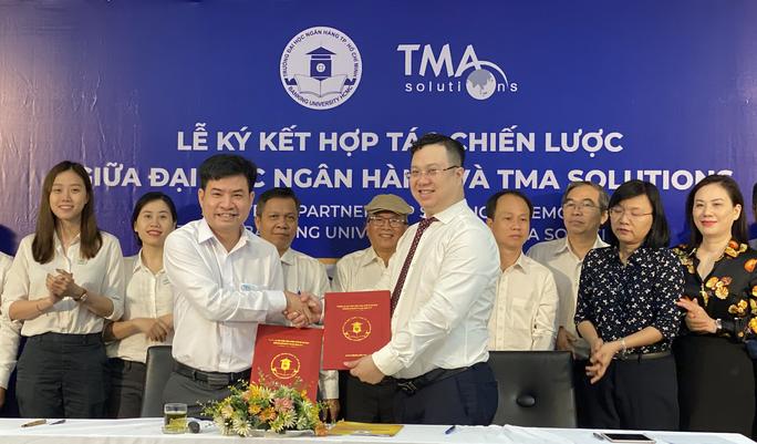 Trường ĐH Ngân hàng TP HCM hợp tác với TMA thúc đẩy chuyển đổi số - Ảnh 1.