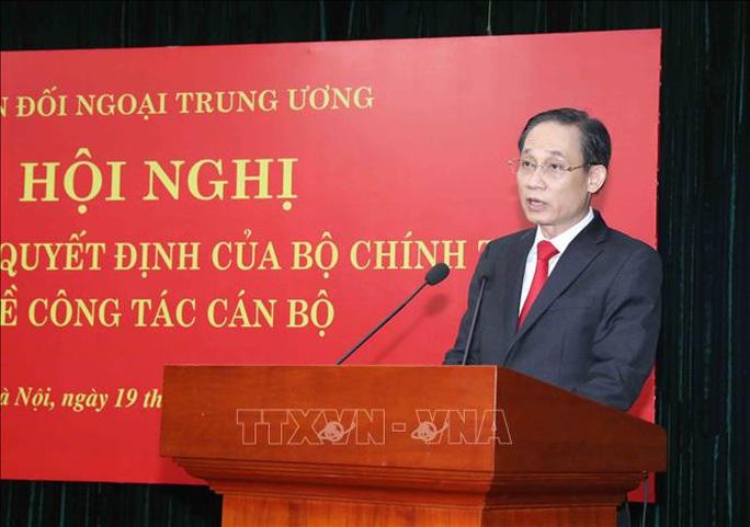 Thứ trưởng Bộ Ngoại giao làm Trưởng Ban Đối ngoại Trung ương - Ảnh 2.