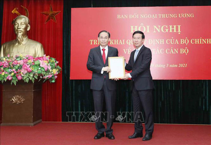 Thứ trưởng Bộ Ngoại giao làm Trưởng Ban Đối ngoại Trung ương - Ảnh 1.