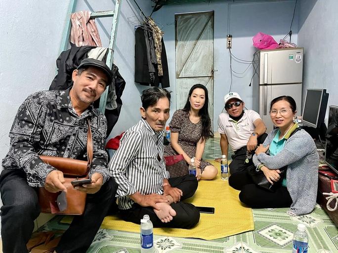 Sau thời gian điều trị, diễn viên Thương Tín cũng đã trở về nhà
