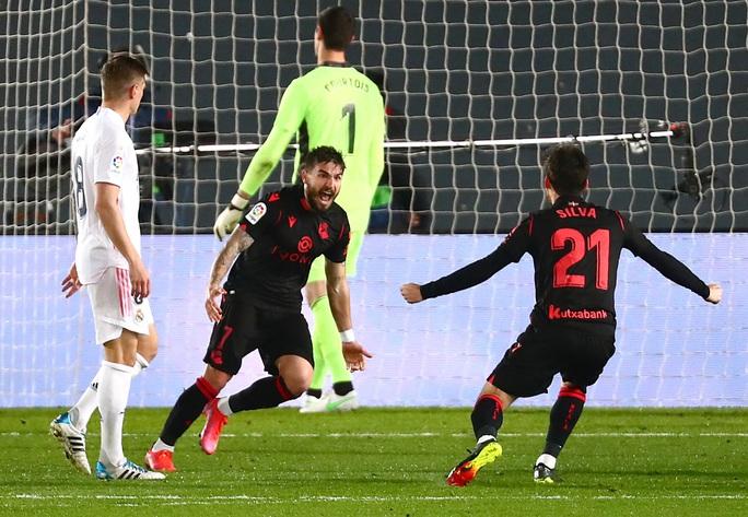 Hòa nghẹt thở phút 89 trên sân nhà, Real Madrid an phận Top 3 La Liga - Ảnh 3.