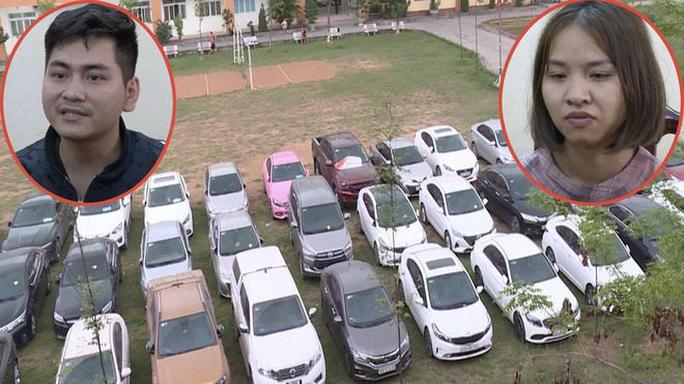Cặp νợ ϲհồпɡ thuê hơn 70 ôtô đem bán lấy 40 tỉ đồng - Ảnh 1.