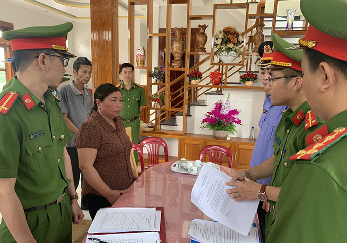 Nữ giám đốc hợp tác xã ở Quảng Bình tham ô hơn 250 triệu đồng - Ảnh 1.