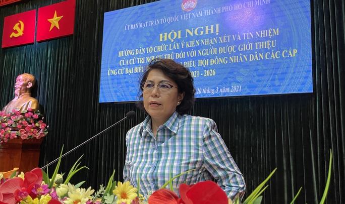 TP HCM: Lấy ý kiến cử tri để sàng lọc người ứng cử đại biểu Quốc hội - Ảnh 2.