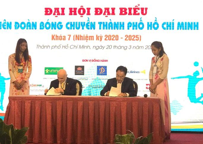Cựu tư lệnh ngành du lịch đắc cử chủ tịch Liên đoàn bóng chuyền - Ảnh 3.