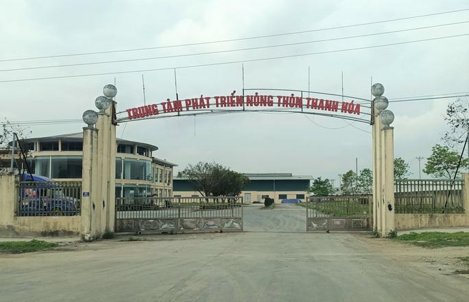 Trung tâm nông nghiệp 17 tỉ đồng ở Thanh Hóa xây xong để làm... cảnh - Ảnh 2.